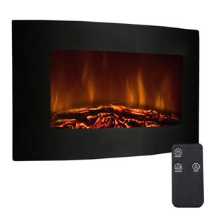 costway-35-decorative-wall-fireplace-heater-with-remote