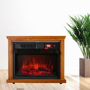 infrared-digital-electric-fireplace-with-remote