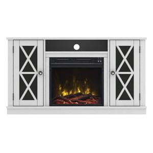 white-electric-fireplace-tv-stand
