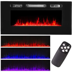 xtremepowerus-40-decorative-wall-fireplace-heater-with-remote